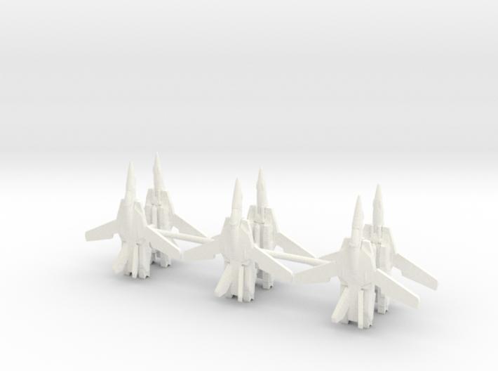 6x VF-1 1/700 3d printed