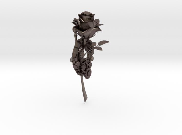 Rose & Gear pin 3d printed