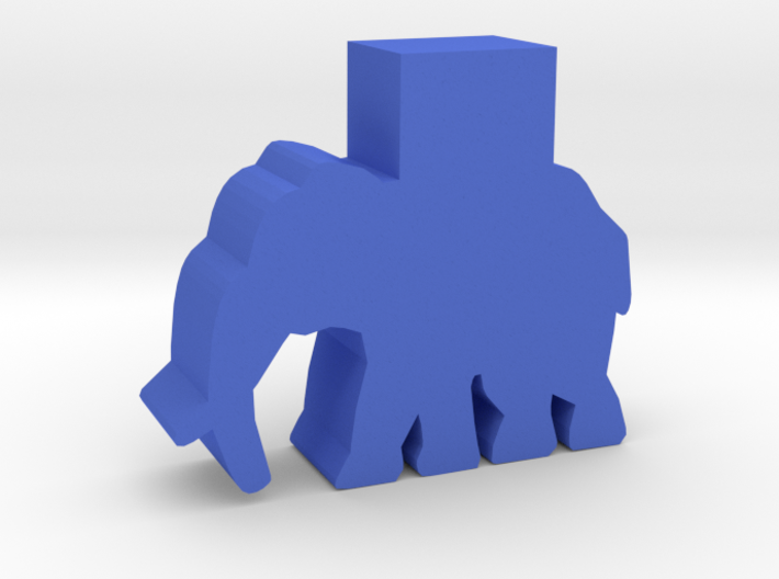 Game Piece, Elephant, Wartower 3d printed