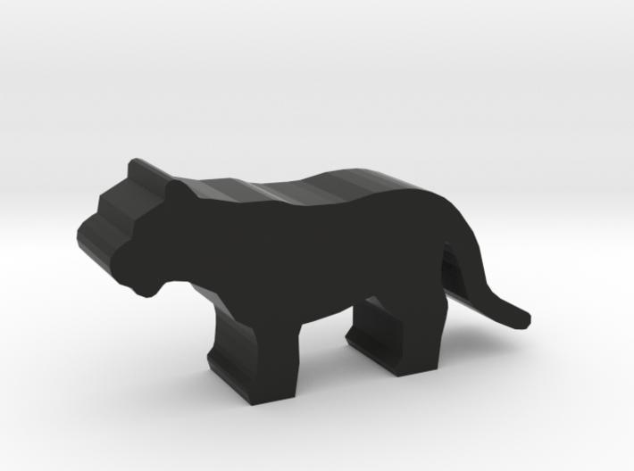 Game Piece, Big Cat, standing 3d printed