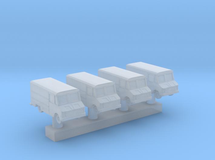 1:350 Scale USAF Crew Van 3d printed