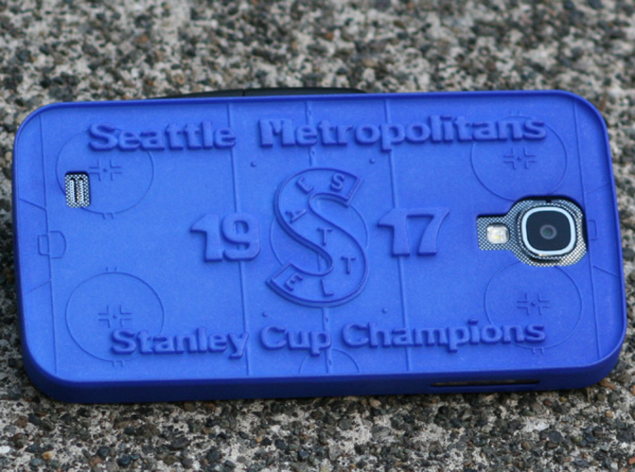 Galaxy S4 Seattle Metros Hockey 3d printed