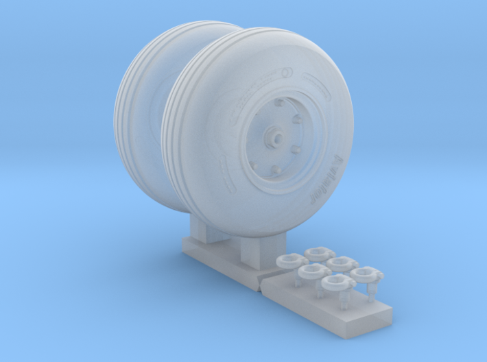 3501 - 1/35 MH-60/SH-60/UH-60 main wheels for Acad 3d printed