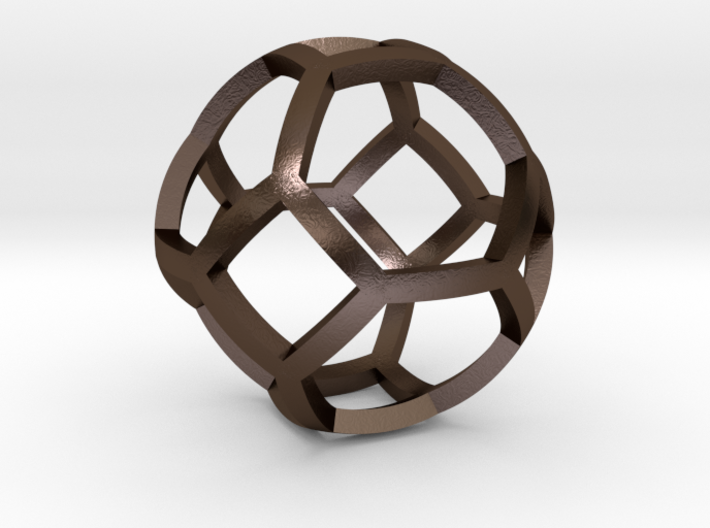 0409 Spherical Truncated Octahedron #001 3d printed