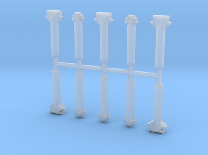 Caboose Toilet Vent 3d printed