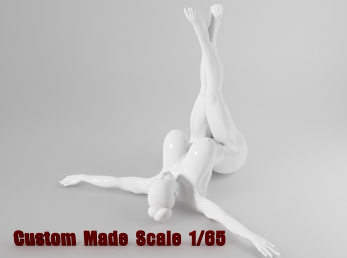 1:65 Nude girl 001 3d printed