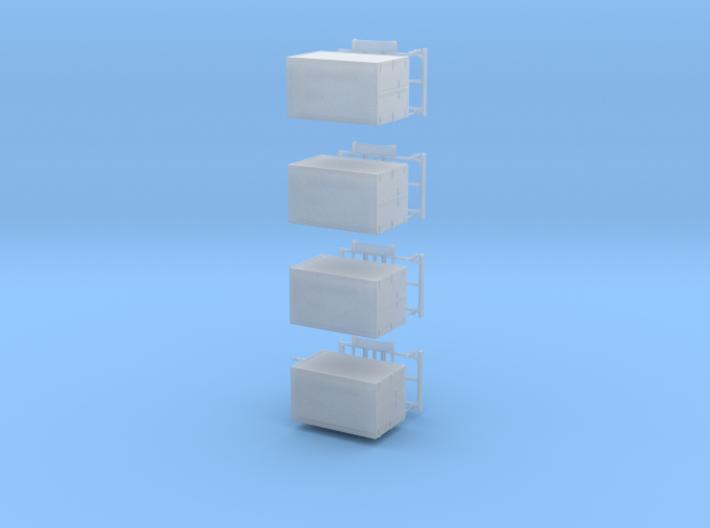 Kofferanhänger 4Stck 3d printed