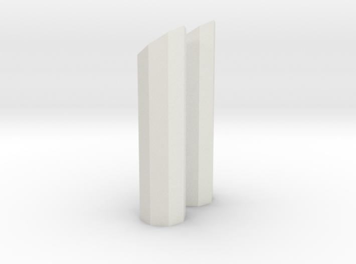 1/64 8 side short stack 3d printed