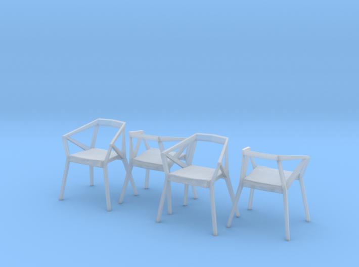 1:48 YY Chair Set 3d printed