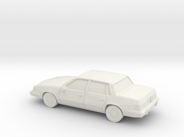 1/87 1981-90 Pontiac 6000 3d printed