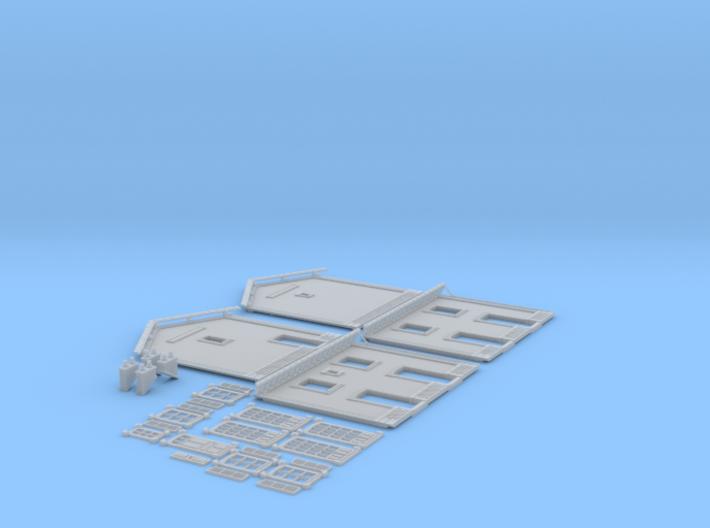 NGPLM21 Modular PLM train station 3d printed