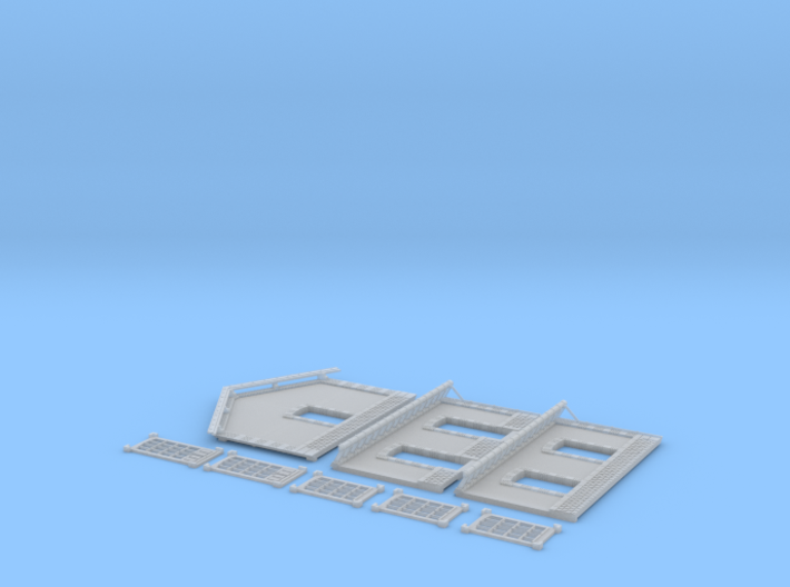 NGPLM51 Modular PLM train station 3d printed