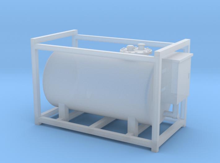 HO - Medium Diesel Tank 3d printed