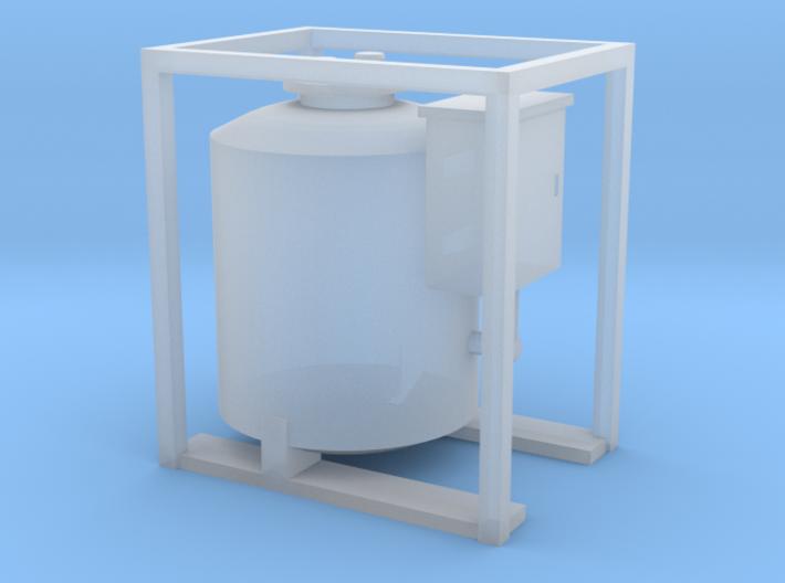 HO - Small Diesel Tank 3d printed