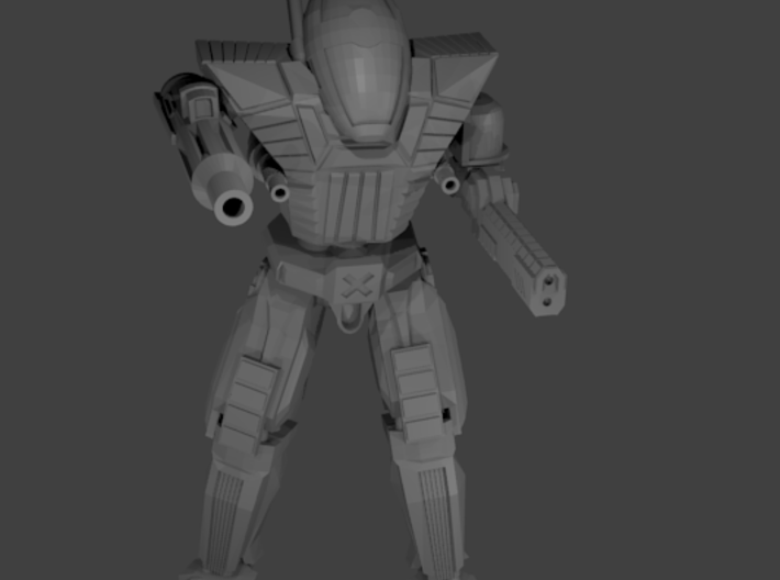 Renfield Assault Infantry Bot (pack of 5) 3d printed