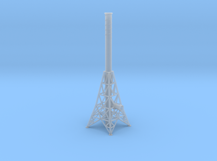 N Smoke Stack 3d printed