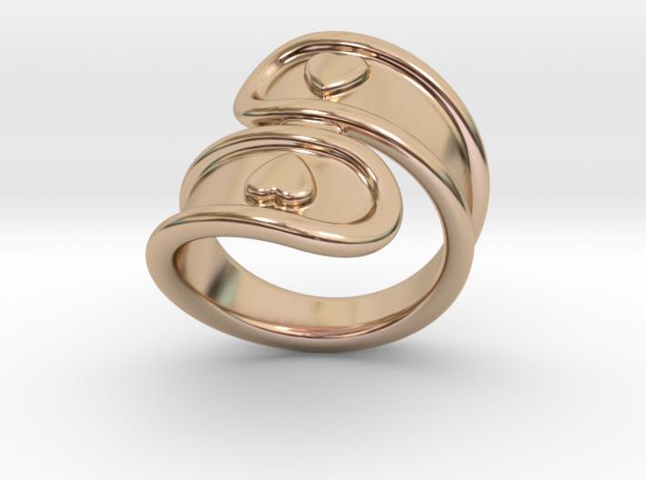 San Valentino Ring 33 - Italian Size 33 3d printed