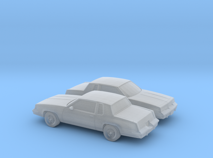 1/160 2X 1987-88 Oldsmobile Cutlass Supreme 3d printed