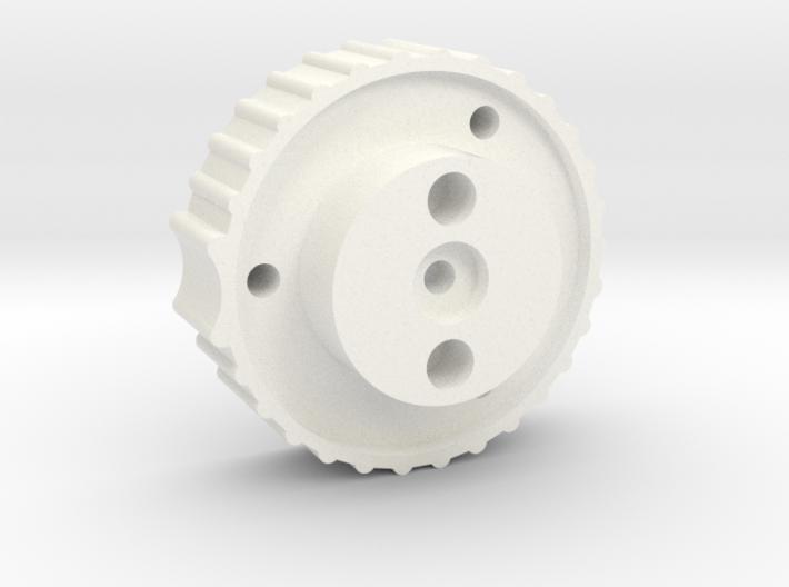 Antenna Elev. knob for 6mm shaft, bottom part 3d printed
