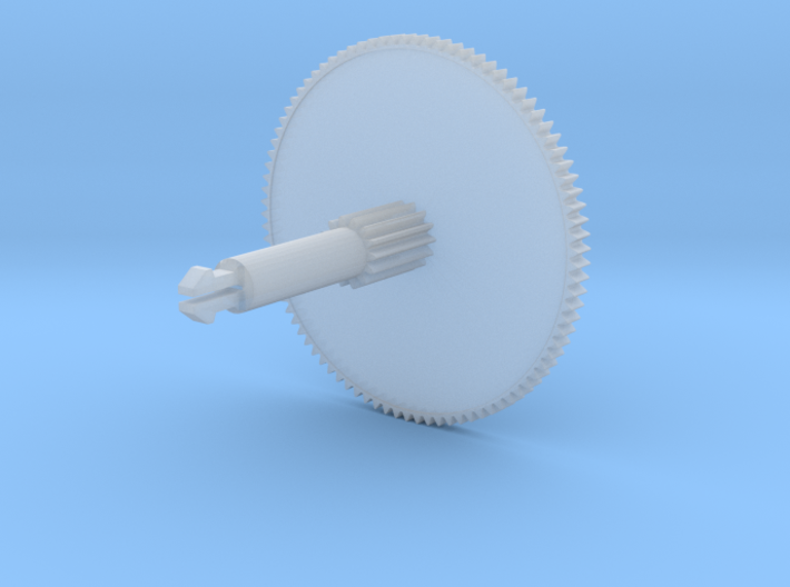 ST Double Gear - MegaCD1 NeoGeoCD, Super CDROM2 v1 3d printed Recommended material (Budget)