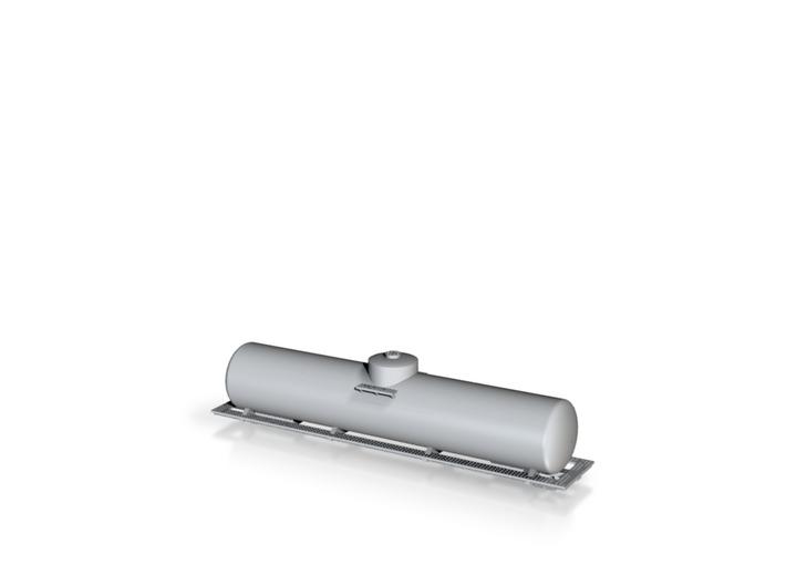 BN Fuel Tender - Metal - Zscale 3d printed
