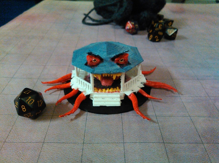 Dread Gazebo 3d printed