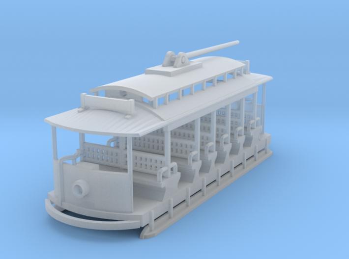 Sintra Tram N Scale 3d printed Sintra Tram Car N scale