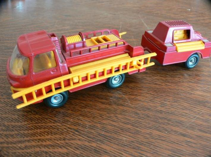 2x Corgi TT Series Ladder 14.55cm 3d printed