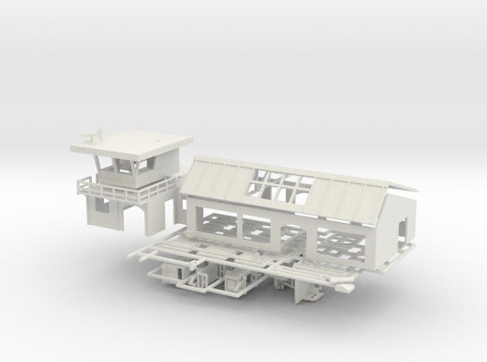 Flughafen - 1:220 (Z scale) 3d printed