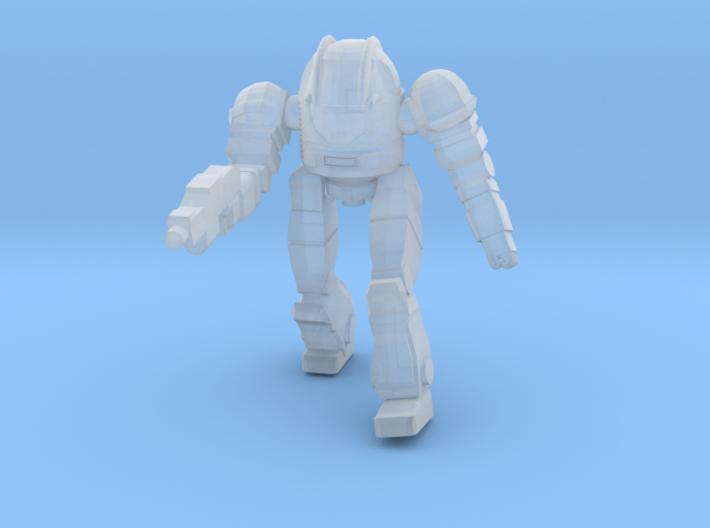 Ogre Mk II Pose 1 3d printed