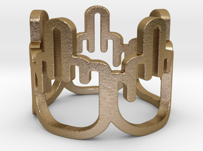 Middle Finger Ring Size 7 3d printed