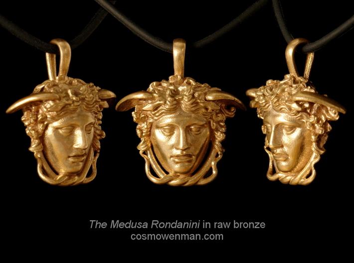 Medusa Rondanini pendant 3d printed