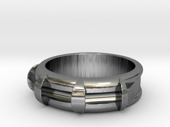 Triple Trit Ring 3d printed