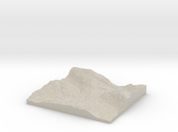 Model of Bringsås 3d printed