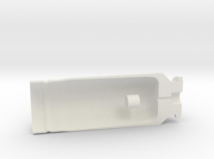 "30x90mm Cutaway Casing, ""Type B"" Style 3d printed"