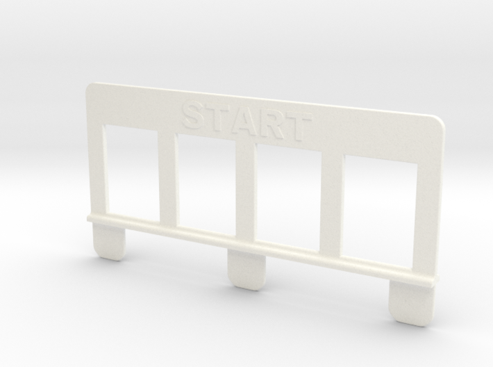 Ski Start 3d printed