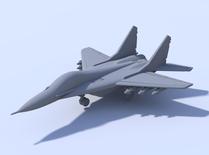 1:400_MIG Fulcrum [x2][A] 3d printed