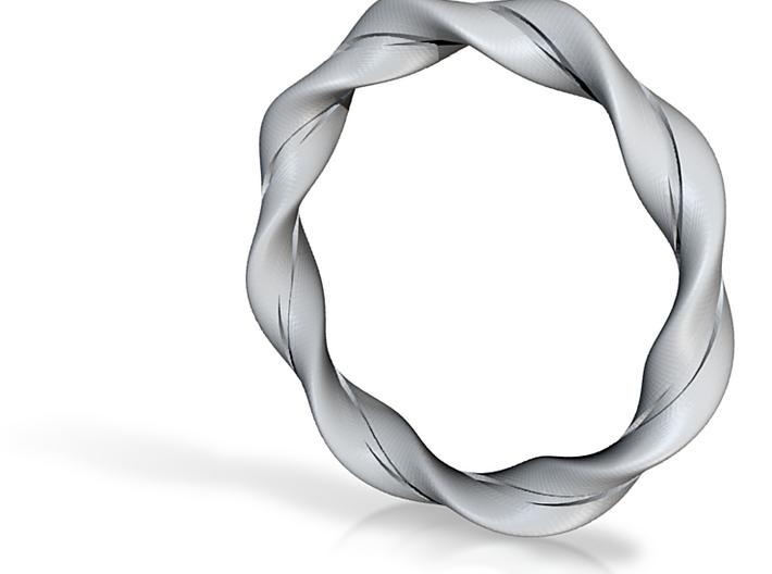 Twisted Bracelet 3d printed