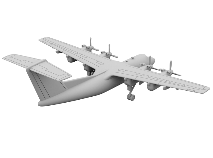 1:200_DHC-7 [x1][S] 3d printed