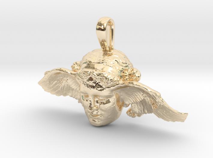 Hypnos, god of sleep, pendant (restored wing) 3d printed