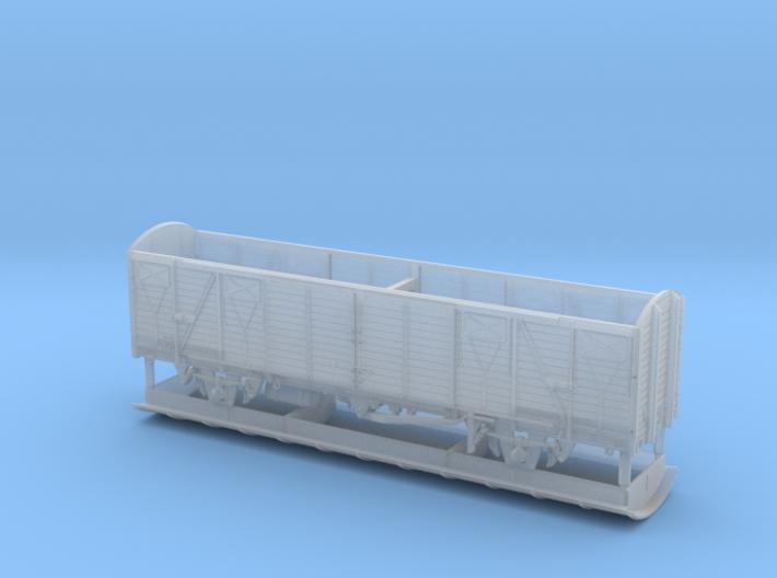 TT Gedeckter Fährbootwagen Gbmhs 51 3d printed