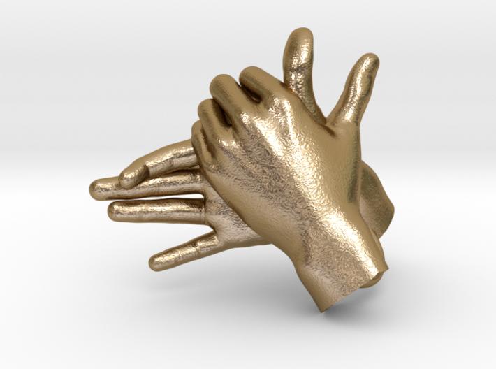 Dog - Hand Shadows 3d printed
