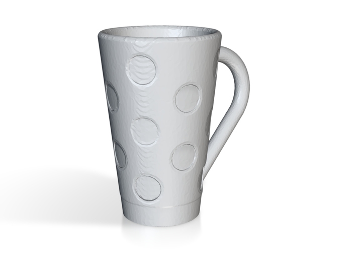 Tall Polka Dot Cup 3d printed