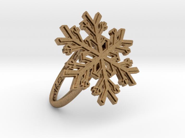 Snowflake Ring 1 d=18.5mm h21d185 3d printed