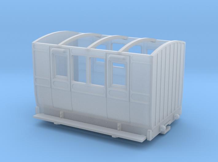 NWNGR 4w coach (009 scale) 3d printed