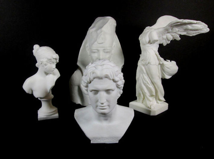 Alexander the Great (356 – 323 BC) 3d printed