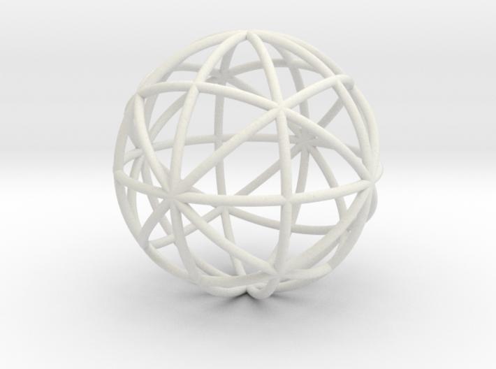 Skeletal Ball 3d printed