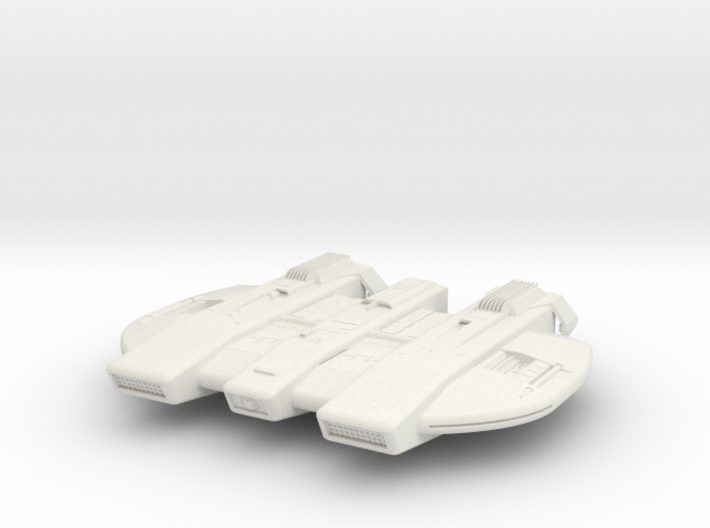 Federation L-Type Cruiser - 27mm 3d printed