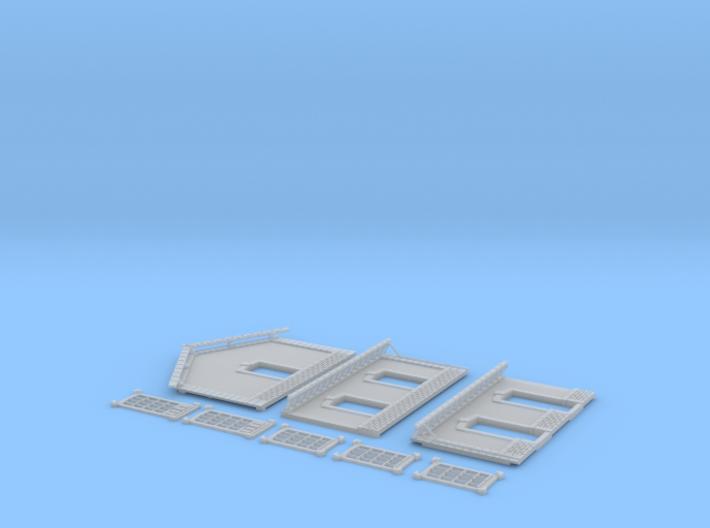 NGPLM54 Modular PLM train station 3d printed