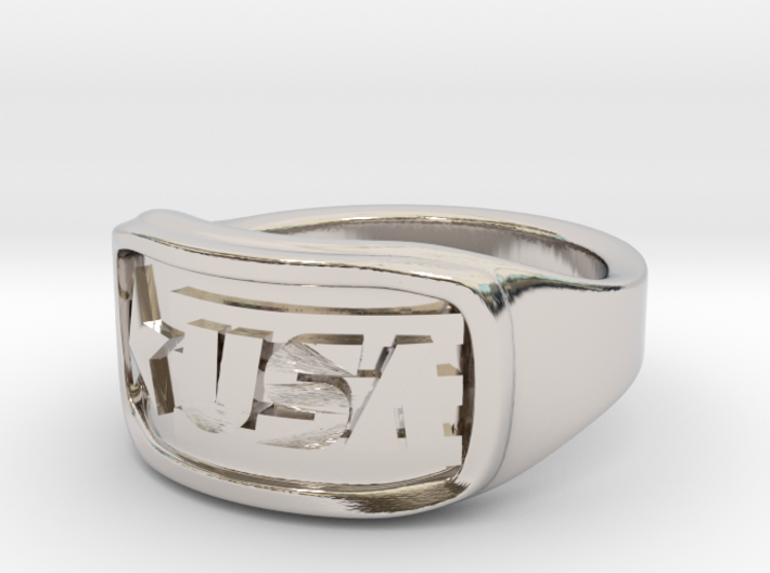 Ring USA 62mm 3d printed